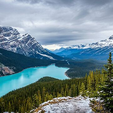 Peyto - The Wolf Lake of Canada by TamasinLangton