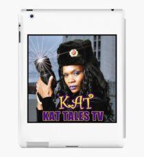 KAT KAT TALES TV Kamera iPad Case/Skin