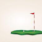 Golf-Feld von AnnArtshock