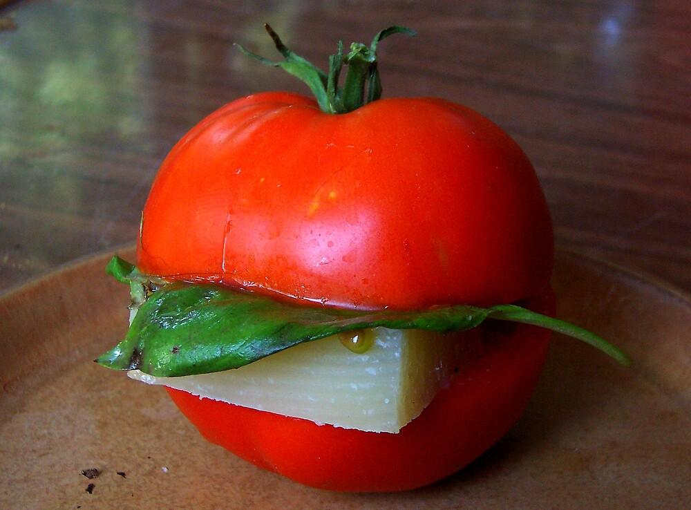 veggie burger by CatharineAmato