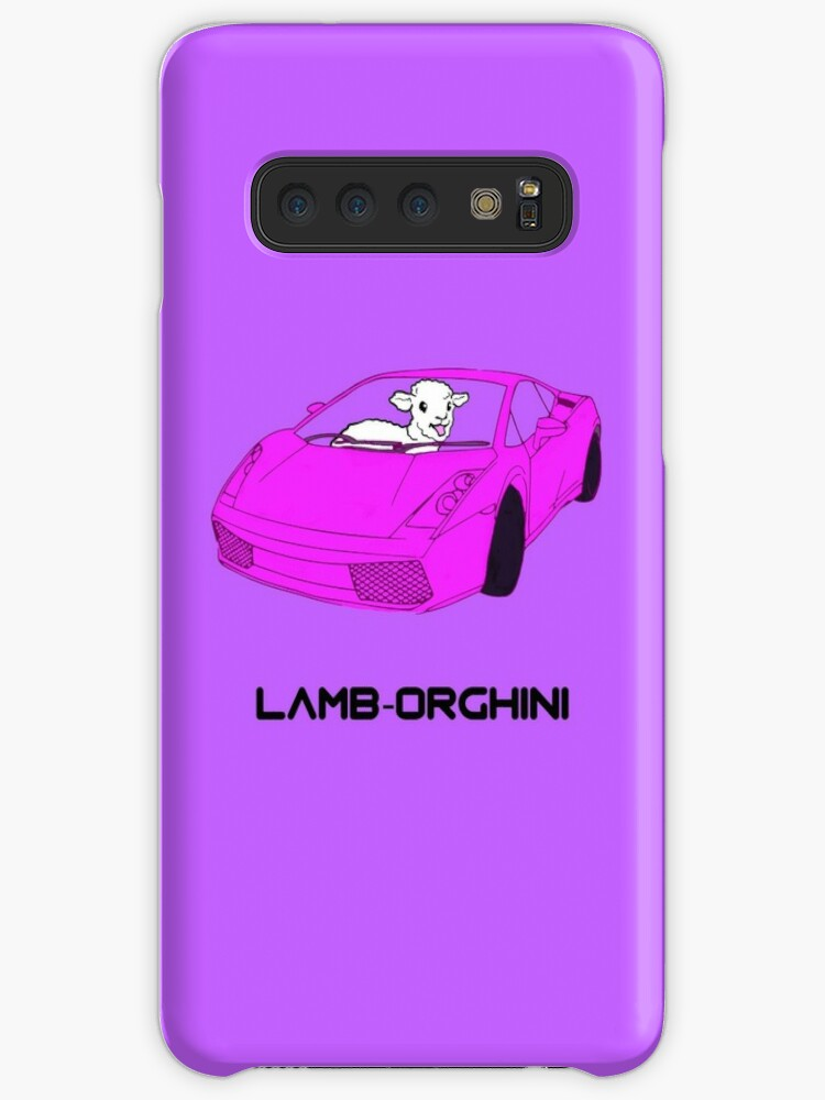 Lamb Orghini Cases Skins For Samsung Galaxy By Barnyardy Redbubble