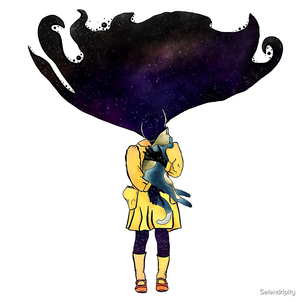 If Solar System was a girl by Selendripity