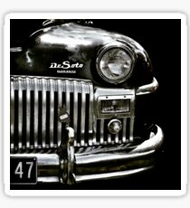 1947  Black Chrysler DeSoto Sticker