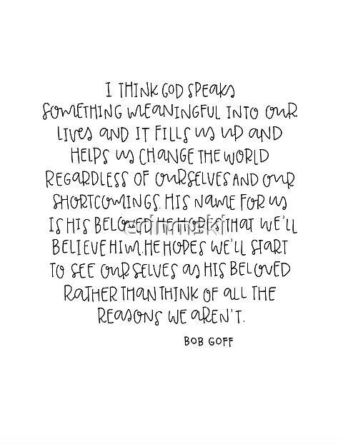 Bob Goff Quote \