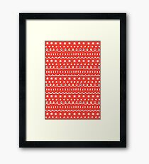Bonus red Framed Print