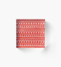 Bonus red Acrylic Block