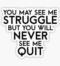 Struggle Sticker