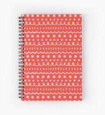 Bonus red Spiral Notebook