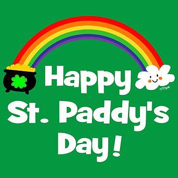 Happy St Paddy's Day Rainbow by ArtVixen
