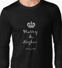 Prince Harry and Meghan Markle - Wedding 19 May 2018 Long Sleeve T-Shirt