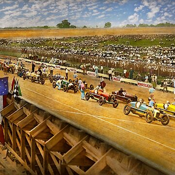Car Race - Life in the fast lane 1925 by mikesavad