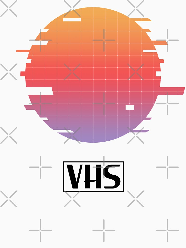 VHS Cassette Glitch by XOXOX