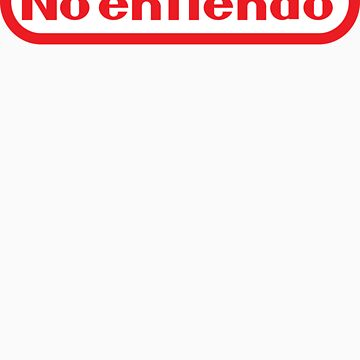 No entiendo means I don´t understand by gamam1