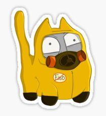 Hazmat Cat Sticker