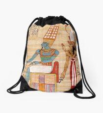 Amun & Mut Receive offerings Drawstring Bag