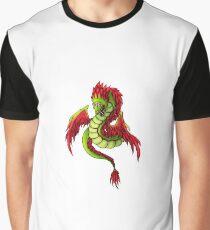 Quetzalcoatl Dragon Graphic T-Shirt
