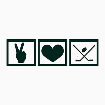 Peace * Love * Hockey by CuriosiTeez