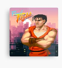 Guy from final fight  Metal Print