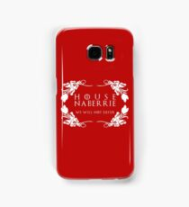 House Naberrie (white text) Samsung Galaxy Case/Skin