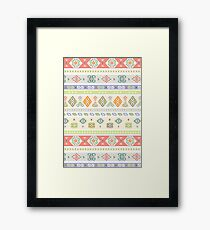 Kilim Hooray Framed Print