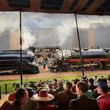 Train - Railroad Pageant 1939 by mikesavad