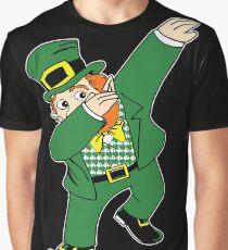 Dabbin' Leprechaun Graphic T-Shirt