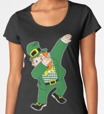 Dabbin' Leprechaun Women's Premium T-Shirt