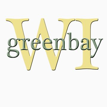 Green Bay all the way by CuriosiTeez