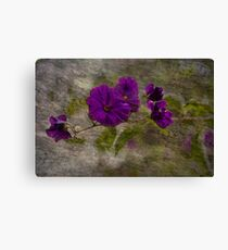 Purple Blend Canvas Print