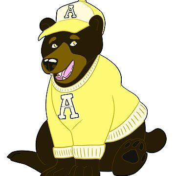 App State Black Bear by rhi-designs
