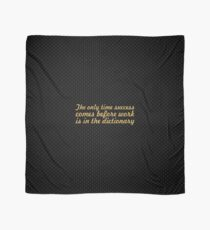 The only time... Inspirational Quote Scarf