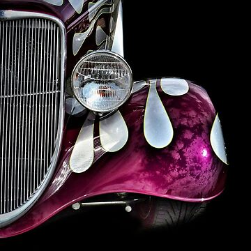 1920s Pink Hot Rod by therandomimage