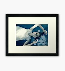 Cold Hand Of Death Framed Print