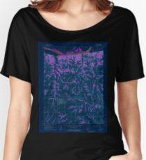 USGS TOPO Map Kansas KS Troy 512671 1961 24000 Inverted Women's Relaxed Fit T-Shirt