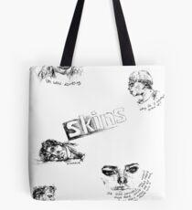 Skins Tote Bag