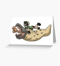 Tremors Greeting Card