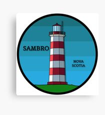 Sambro Island Lighthouse Canvas Print