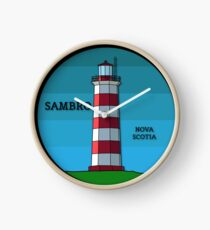Sambro Island Lighthouse Clock