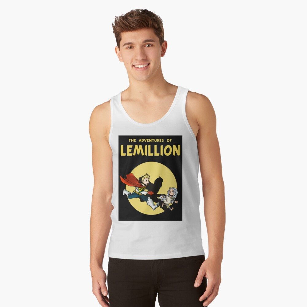 Lemillion (Tintin) Tank Top