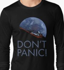 Spacex DON'T PANIC In Space Long Sleeve T-Shirt