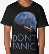 Spacex DON'T PANIC In Space Long T-Shirt