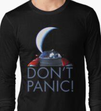 Spacex Starman DON'T PANIC Long Sleeve T-Shirt