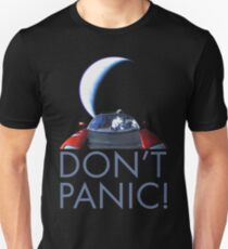 Spacex Starman DON'T PANIC Unisex T-Shirt