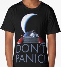 Spacex Starman DON'T PANIC Long T-Shirt