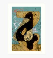 Numerology Art Print