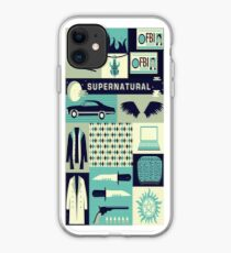 Supernatural Collage Art iPhone Case