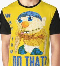 WARUM TUST DU DAS? Grafik T-Shirt