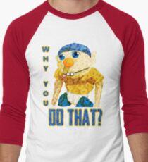 WARUM TUST DU DAS? Baseballshirt mit 3/4-Arm