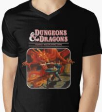dungeons and dragons red box Men's V-Neck T-Shirt