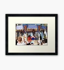 All Eyes on Snow White  Framed Print